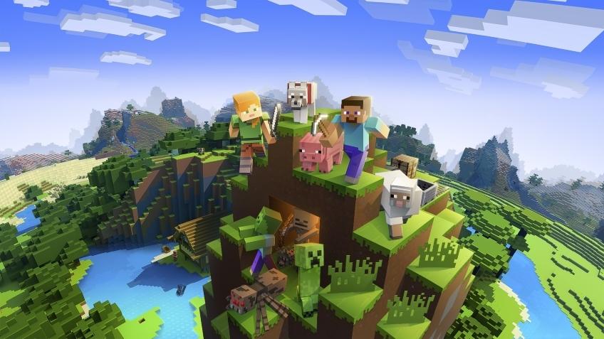 После обновления из главного меню Minecraft исчезли упоминания её создателя