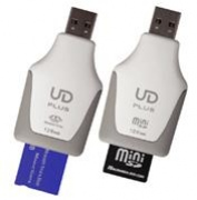 Гибрид USB-брелока и карт-ридера из Японии