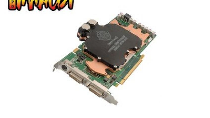 GeForce 8800 GTS с водяным охлаждением