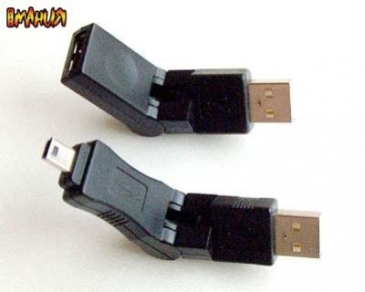 USB уголком