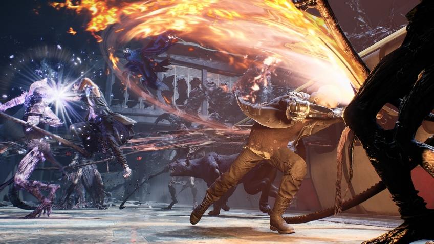 Capcom пришлось выбирать между Devil May Cry5 и Dragon's Dogma2