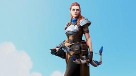 Художник представил, как выглядела бы Элой из Horizon: Zero Dawn в Overwatch