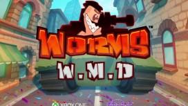 Червяки садятся на танки в трейлере Worms WMD
