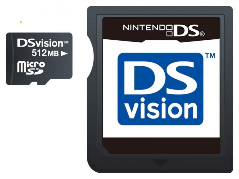DSvision позволит загрузить видео на DS