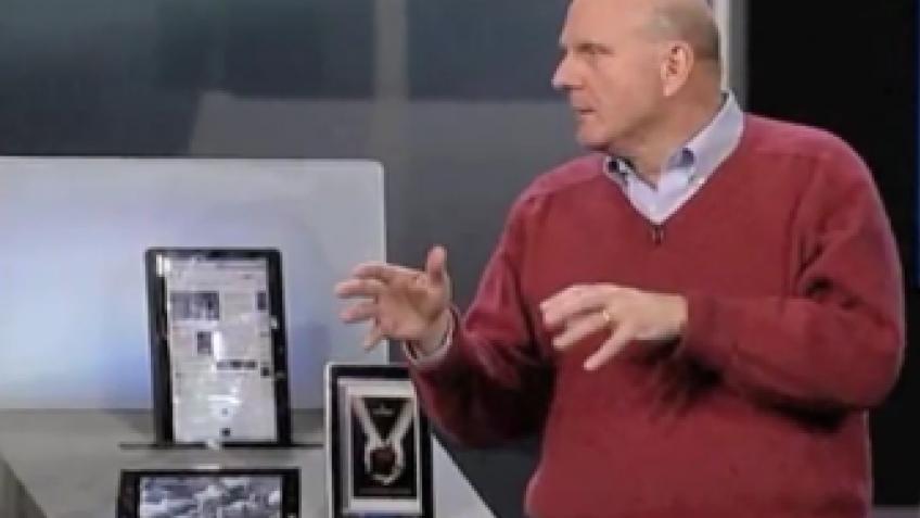 Microsoft может представить собственный планшет для Windows 8