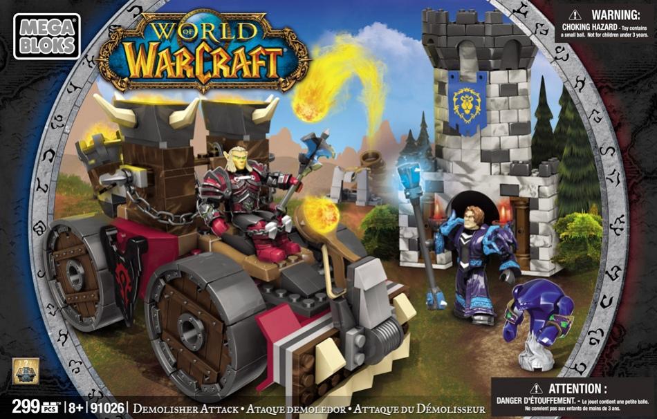 Игрушки-конструкторы по мотивам World of Warcraft поступят в продажу