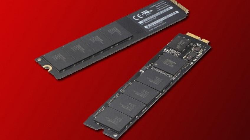 Toshiba представила SSD в виде планок для сборщиков компьютеров