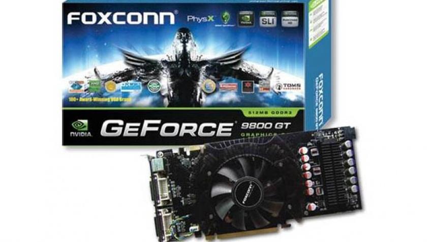 FOXCONN представила GeForce 9800 GT