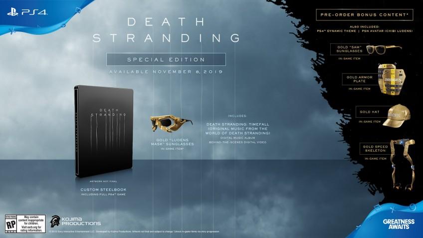 Sony представила специальное и коллекционное издания Death Stranding