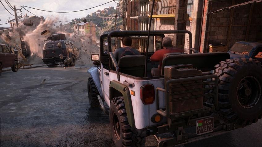 Натан Дрейк сел за руль в Uncharted4 (обновлено)