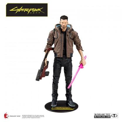 McFarlane выпустит две фигурки с героем Киану Ривза из Cyberpunk 2077