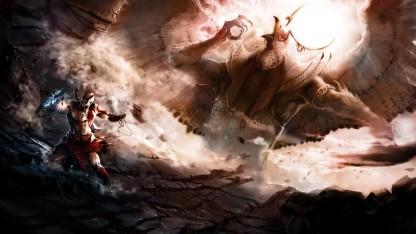 Авторы God of War (2018) показали ранний концепт игры в Египте