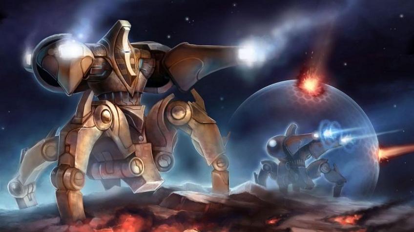 Вышла стартовая версия StarCraft2