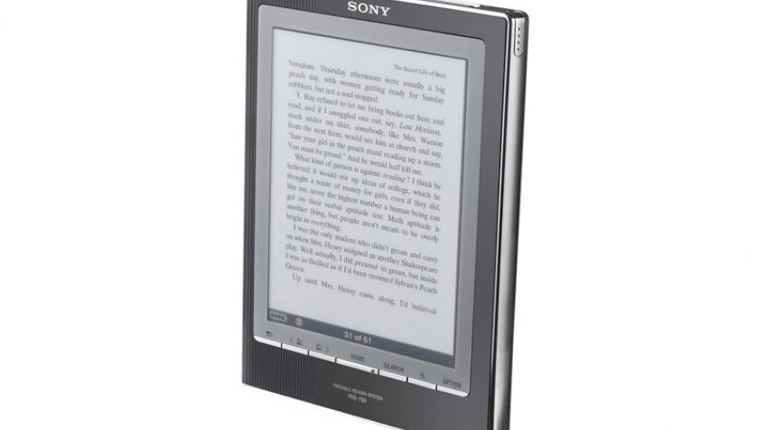 Новая электронная книга от Sony