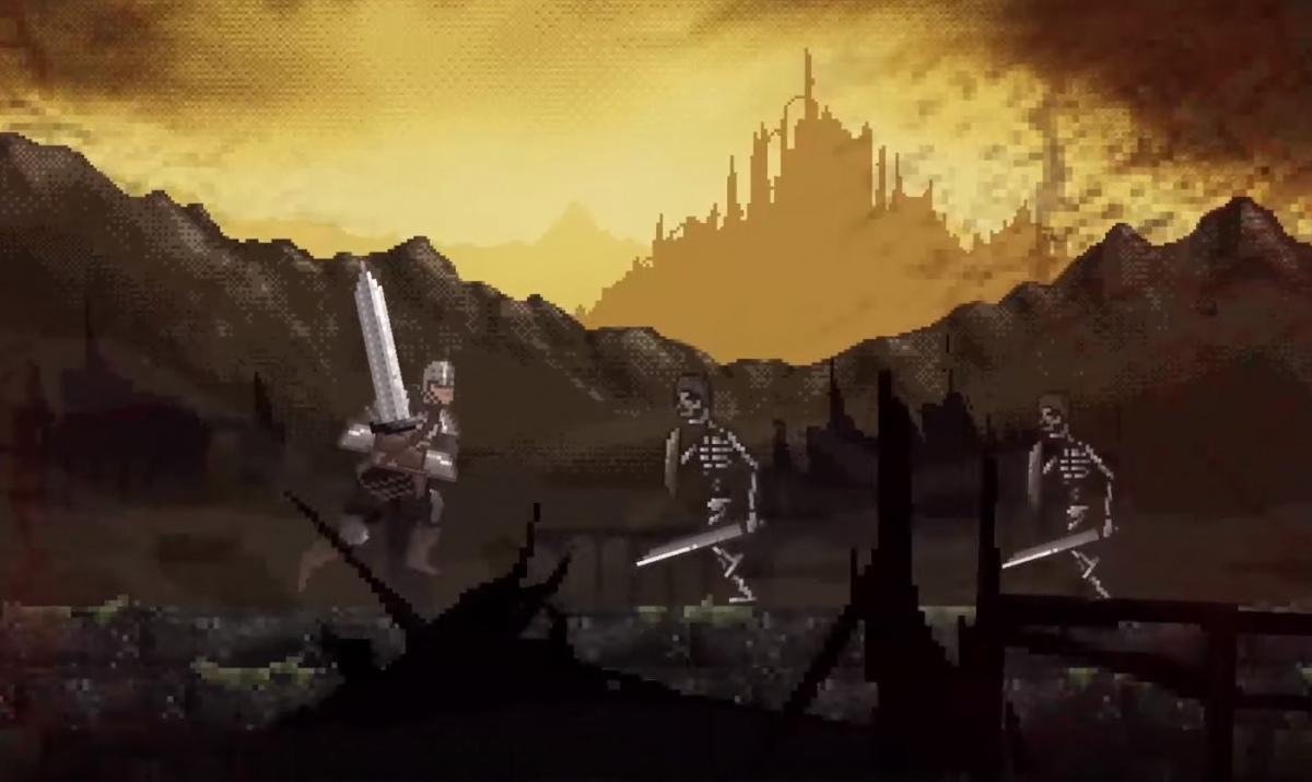 Bandai Namco представила Slashy Souls — мобильную игру, вдохновленную Dark Souls