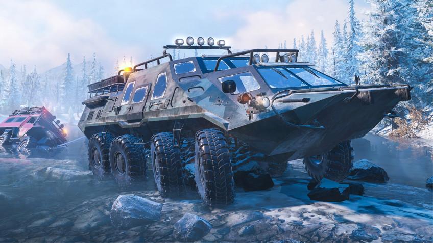 SnowRunner завтра доедет до Xbox Game Pass