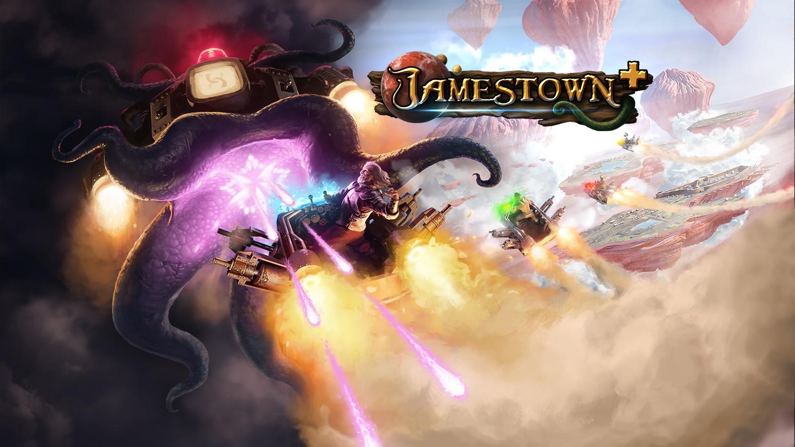 Пиксельный боевик Jamestown+ в декабре выйдет на РС и Nintendo Switch