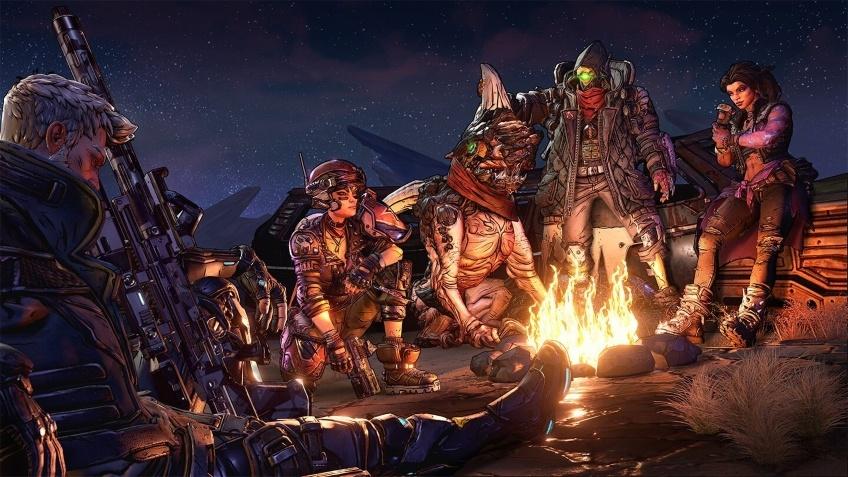 Первые геймплейные кадры Borderlands3 в кооперативе на четверых