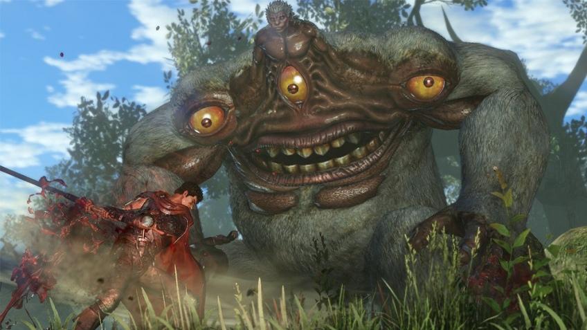 На новых кадрах из Berserk показали мерзких монстров