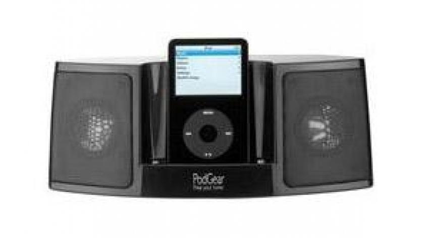 Черная iPod-акустика