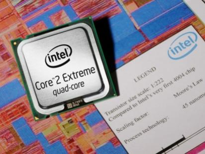 Intel Penryn смогут независимо ускорять отдельные ядра