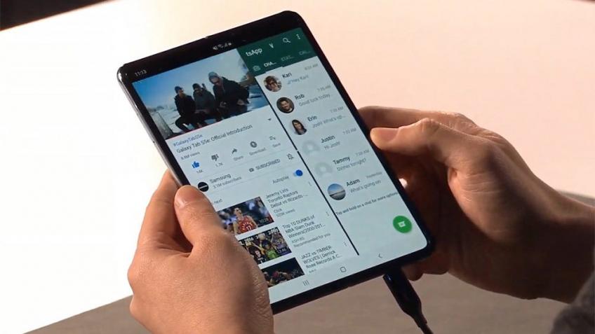 Журналисты оценили складной смартфон Samsung Galaxy Fold