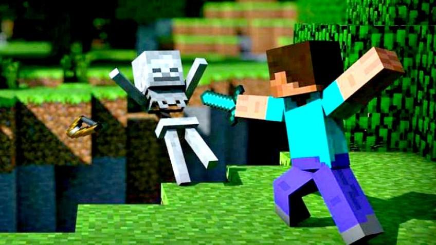 Игрок прошёл Minecraft, не добыв ни единого блока