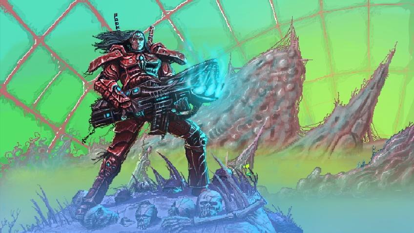 В PC-версии платформенного боевика Valfaris появилась «Новая игра +»