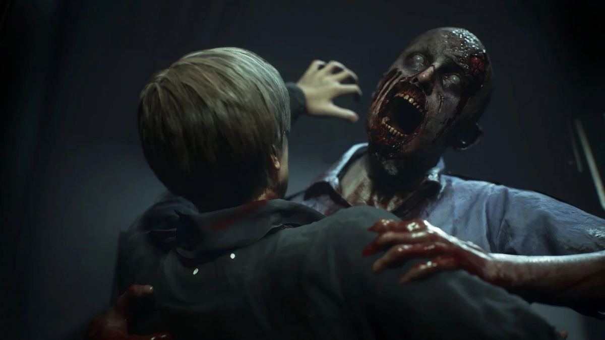 В Resident Evil7 обнаружили ранний скриншот ремейка Resident Evil2