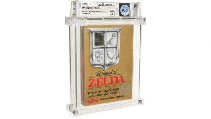 Редкую копию оригинальной The Legend of Zelda продают на аукционе