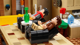 LEGO представила набор по мотивам сериала «Друзья»