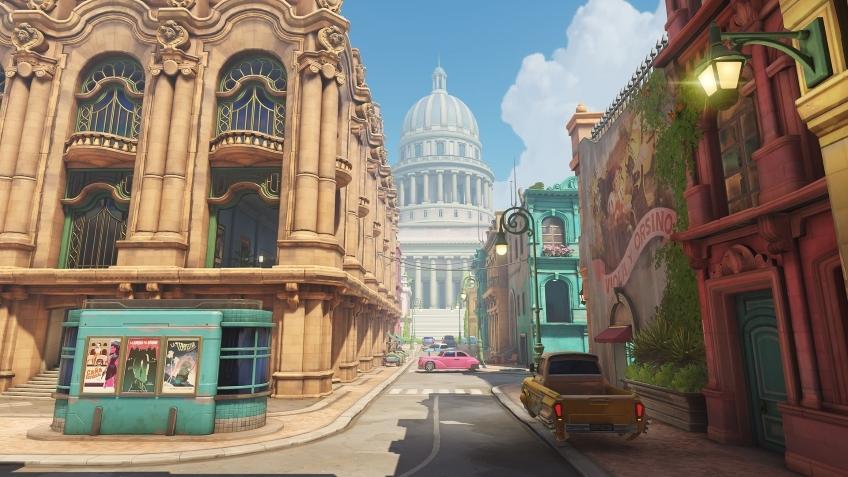 Новая карта «Гавана» уже появилась на тестовых серверах Overwatch