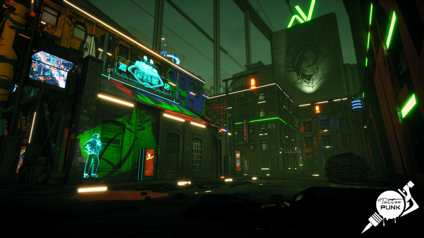 Панк не умер, уверены создатели симулятора Tattoo Punk, Cyber Rain Games