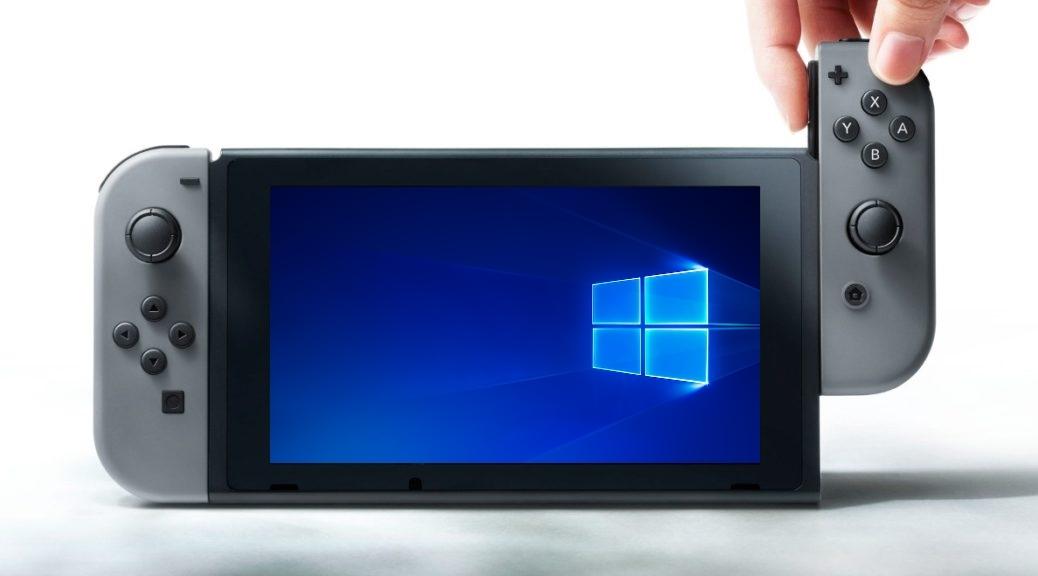 Энтузиаст установил Windows 10 на Nintendo Switch