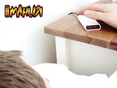 Симпатичный мобильник-будильник