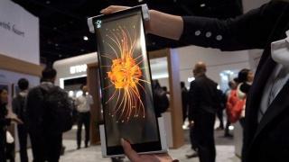 BOE показала прототип растягиваемого планшета