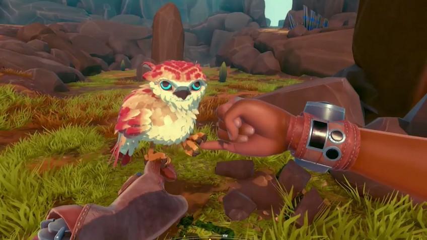 Ручной сокол против роботов: приключение Falcon Age вышло на PC