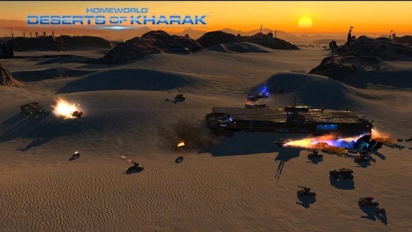 Homeworld: Deserts of Kharak расскажет предысторию исходной игры