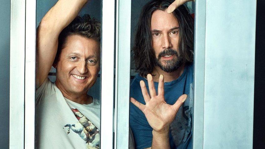Съёмки третьего фильма о Билле и Теде стартуют 1 июля