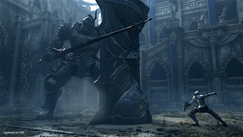Свежий скриншот ремейка Demon's Souls стал основой для мемов