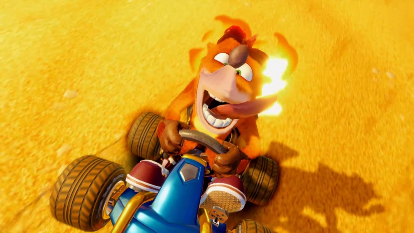 Activision представила ремейк Crash Team Racing