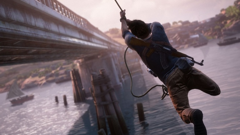 Naughty Dog показали мультиплеер Uncharted4