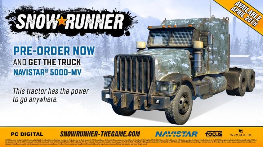 SnowRunner выйдет28 апреля