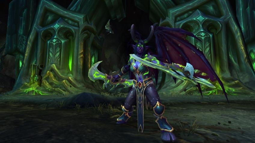 Персонажа в World of Warcraft прокачали с помощью танцевального коврика