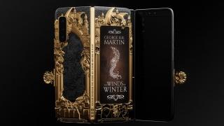Caviar выпустила складной смартфон Samsung Galaxy Fold на тему «Игры престолов»
