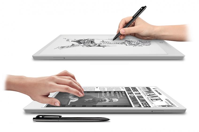 На Kickstarter планируют собрать деньги на планшет с E-Ink-дисплеем и 4G