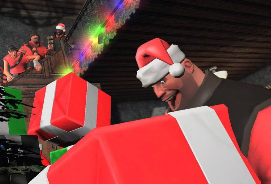 Выпущено праздничное обновление для Team Fortress2
