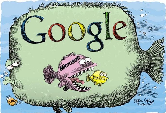 Прикольная картинка на гугле, объединение