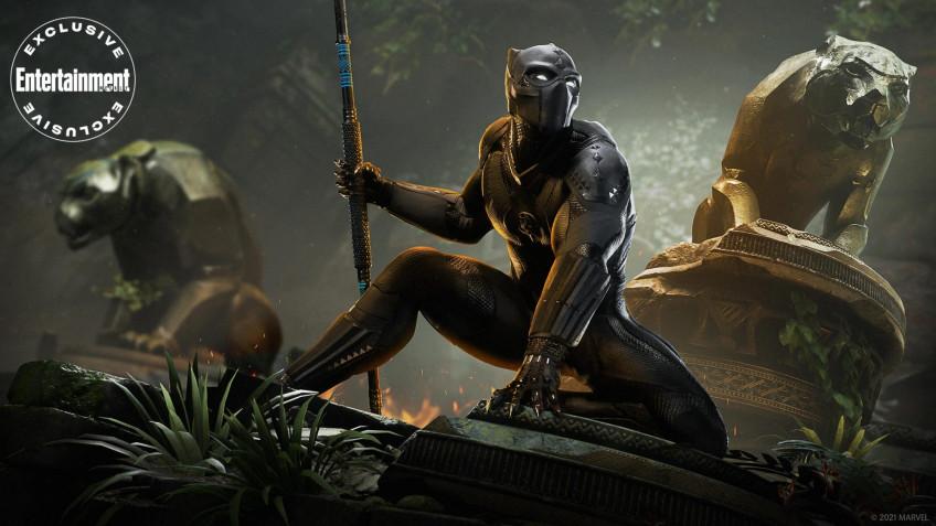 Чёрная пантера во «Мстителях» Square Enix зазвучит голосом Кратоса из God of War1