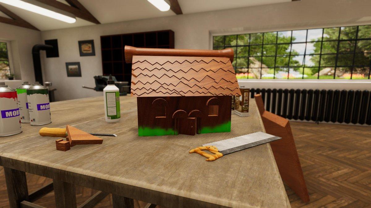 Авторы PC Building Simulator работают над симулятором плотника